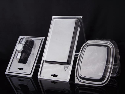 pet对折吸塑包装盒